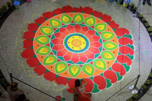 What is Diwali Rangoli? Popular patterns and designs
