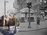New York streets and landmarks in 2018 compared to the forties