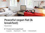 Meat-eaters not welcome! Number of vegan and vegetarian-only Airbnbs and B&Bs soars