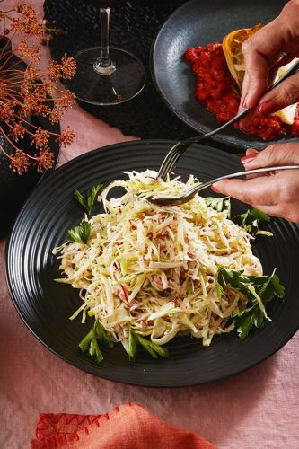 Recipe: Ruth Pretty's Cabbage, Pear & Fennel Slaw