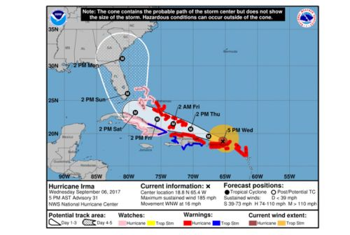 How Hurricane Irma Might Impact Your Travel Plans