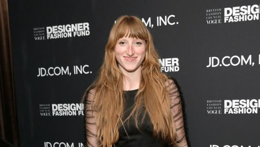 Molly Goddard Takes Home the BFC/British Vogue Fashion Fund Prize