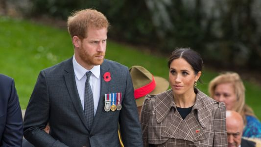 Meghan Markle Wore a Thing: Karen Walker Trench Coat in New Zealand Edition