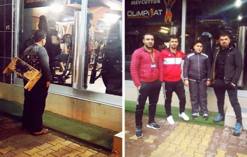 Why this Gym Tracked Down a Young Syrian Refugee and Gave Him a Lifetime Membership