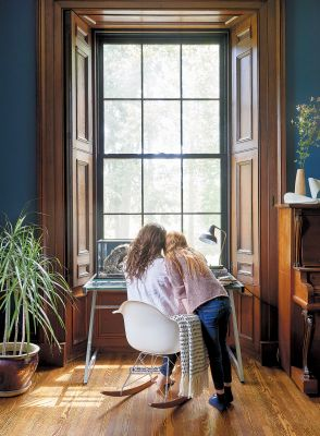 How One Family Ditched Their Tiny City Semi For A Sprawling, 200-Year-Old Place In The Country