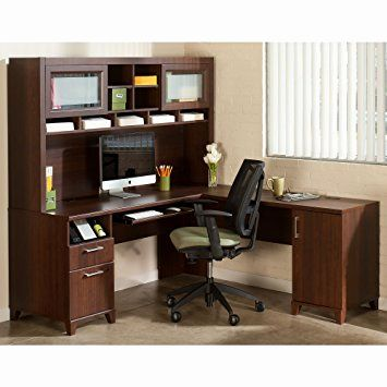 30 Elegant L Shaped Computer Desk with Hutch Graphics