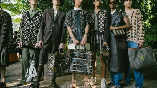 Men outdoors: Men's Milan Fashion Week SS20 takes us back into nature