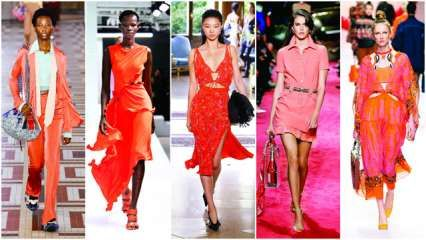 How to rock living coral: Pantone's hue of 2019 gets a thumbs up from designers