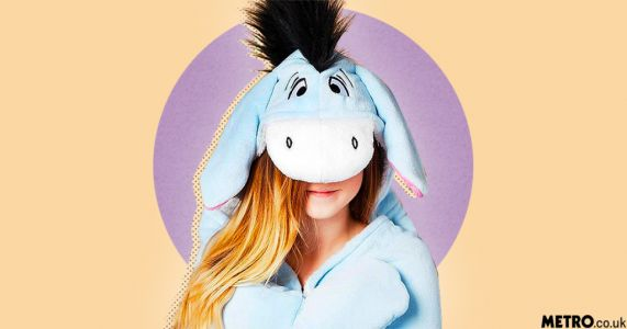 Primark is selling an Eeyore-themed slanket and it looks super cosy