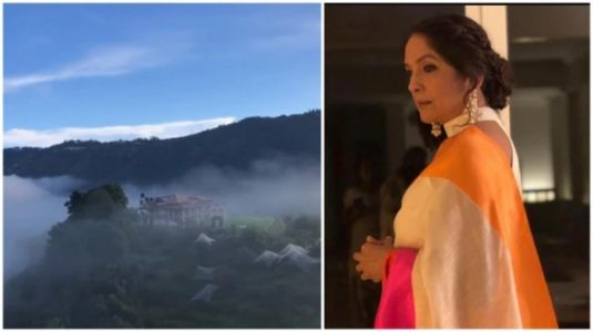 Neena Gupta shares scenic views from Mukteshwar residence. Watch video