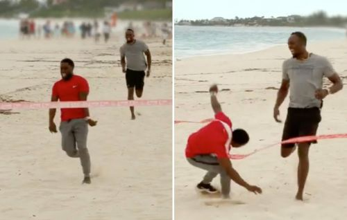 Kevin Hart Beat Usain Bolt in a Race-But There Was a Catch