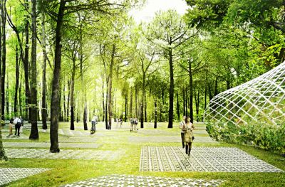 Istanbul's Parkorman Park to Be Architectural Adventure Including Treetop Trampolines