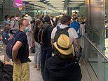Heathrow chaos gets WORSE as crowds are again forced into massive queues with no social-distancing