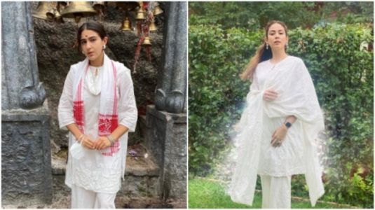 Sara Ali Khan and Mira Rajput spotted in same Rs 10k kurta and palazzo set. Who wore it better?