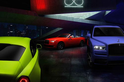 The Rolls-Royce Neon Lights Collection Was Inspired By Sami Coultas' Travels