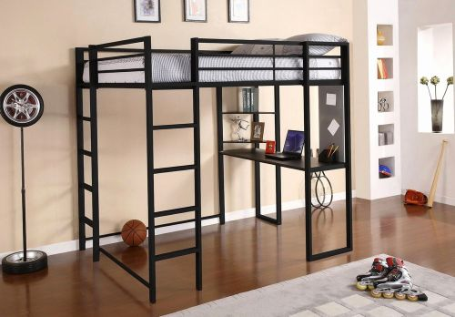 30 Inspirational Metal Bunk Bed with Desk Pics