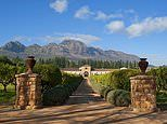 Exploring the winelands around Cape Town with our holiday hero