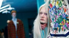 Models Carried Their Own Severed Heads At Gucci's Nightmarish Milan Fashion Show