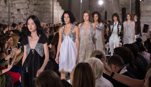 Louis Vuitton Closed Paris Fashion Week With a Parade of Aristocratic Sneakerheads