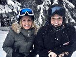 Dom Joly jets off on a luxury ski break with his wife