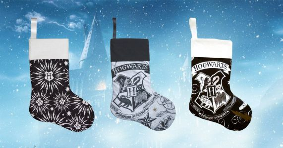 Harry Potter themed Christmas stockings are here