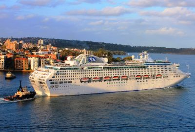 This Cruise Ship Went Dark for 10 Days to Avoid a Pirate Attack