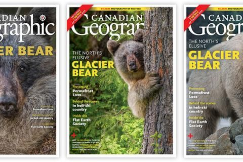 Help us choose the January/February 2019 Canadian Geographic cover!