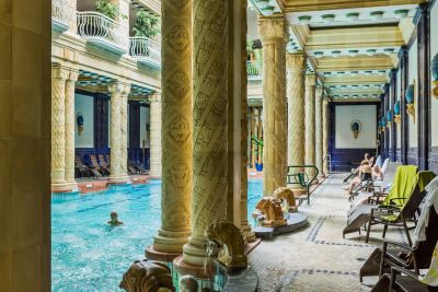 Ruin bars and the world's most beautiful baths - Anthony Horowitz finally discovers Budapest