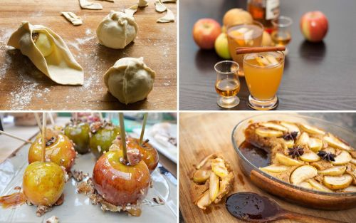 Sweet and savoury recipes for Apple Day from Borough Market