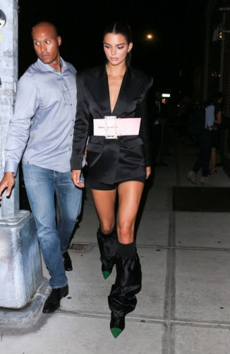 Kendall Jenner Wore the Statement Belt to End All Statement Belts