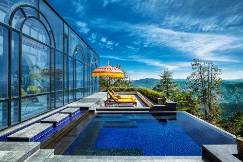 Soak in the spectacular setting at these luxury hotels in the Himalayas