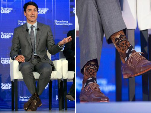 Sock Diplomacy: What Justin Trudeau Should Wear On His Tootsies This Year