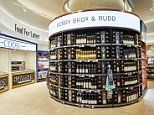 Wine merchant to the Queen Berry Bros. & Rudd has opened a shop in a TRAIN STATION