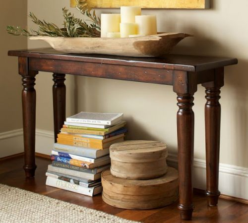 48 Unique Turned Leg Console Table Images
