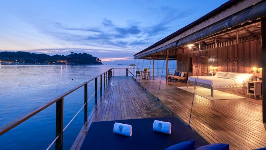 Banyan Tree Bintan elevates the humble kelong into the ultimate luxury escape