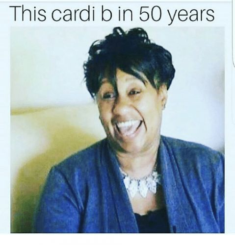 This Woman Looks Like Cardi B in 40 Years & We're Obsessed