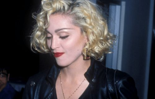 Great Outfits in Fashion History: Young Madonna in Leather and DIY Denim