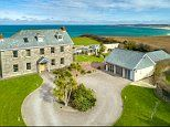 Cornish manor house boasting sea views goes on sale for £3m