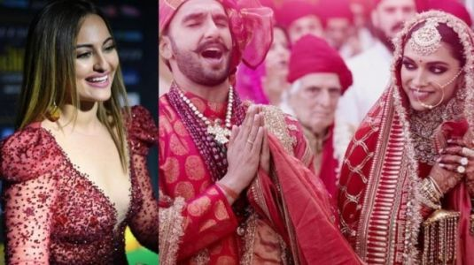 Deepika-Ranveer new wedding pictures just made Sonakshi Sinha say what all of us are feeling
