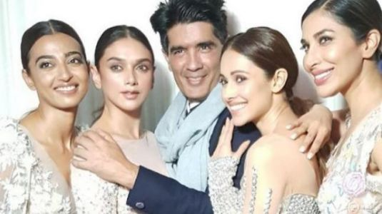 Manish Malhotra launches new collection on a 400-foot ramp, with 4 celeb showstoppers