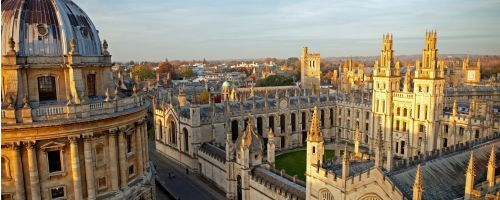 Luxury stay at stunning hotel near the centre of Oxford