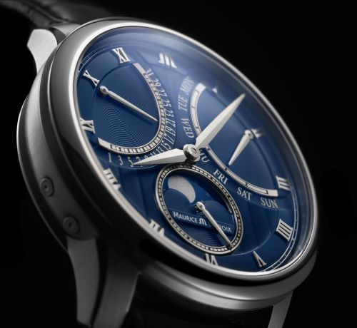 Retrograde Motion - Maurice Lacroix Masterpiece Moonphase Retrograde