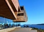 A stylish hotel in the South American island of Chiloe, near the Chilean Lake District
