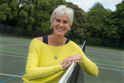 Judy Murray: 'I love exploring the blood and gore of Edinburgh'