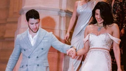 Priyanka Chopra and Nick Jonas score 10 on 10 on fashion in unseen photos from wedding