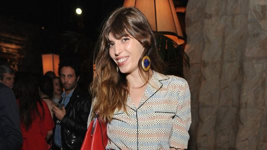 Great Outfits in Fashion History: Lou Doillon in Marni for H&M