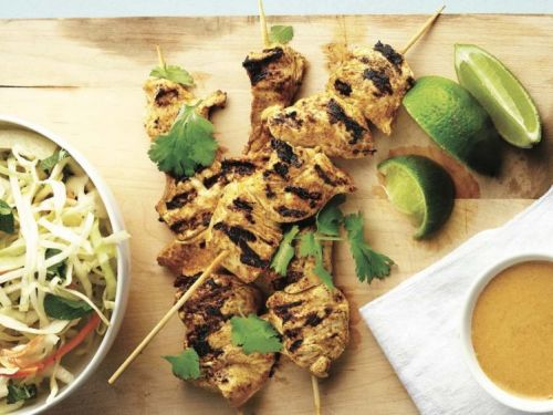 Curry-Coconut Chicken Skewers, Plus 4 More Weeknight Dinner Recipes