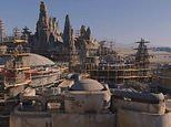 Disney gives a tantalising taste of how its new Star Wars lands are taking shape