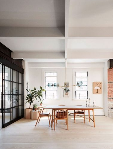 A Stunning Light Filled Loft in New York City