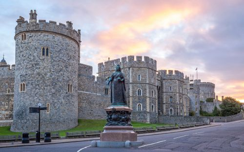 A day out in Windsor, a town fit for a prince - but not for a pauper